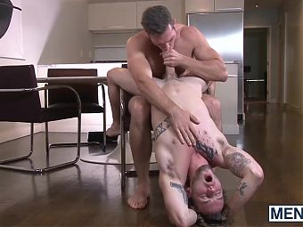 Alex Mecum fucking Colton Grey with his big thick tool