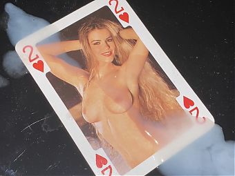 Cum over Erotic CardGame