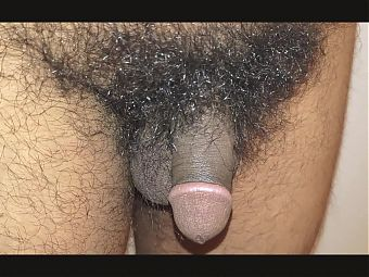Humiliating small brown and hairy Cock