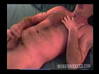Mature Amateur Robbie Jacking Off
