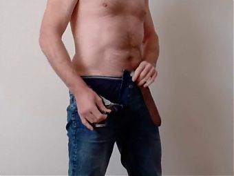 Striptease with cumshot