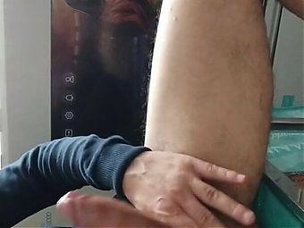 Deep fuck and cumshot my big hard dick