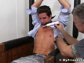 Tickle tormenting with jock Sergey