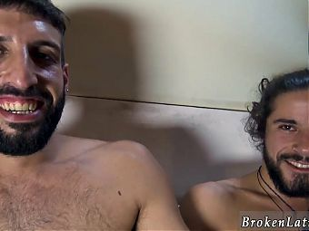 Gay daddy latino video first time Our naughty cameraman