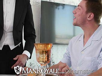 ManRoyale Rich Logan Taylor fucked by man maid Fx Rios